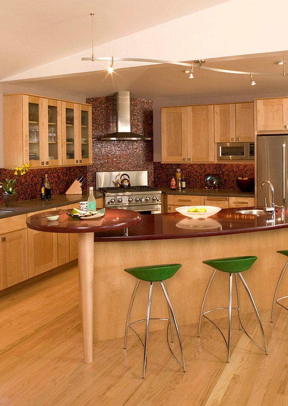 Кухни неправильной формы дизайн