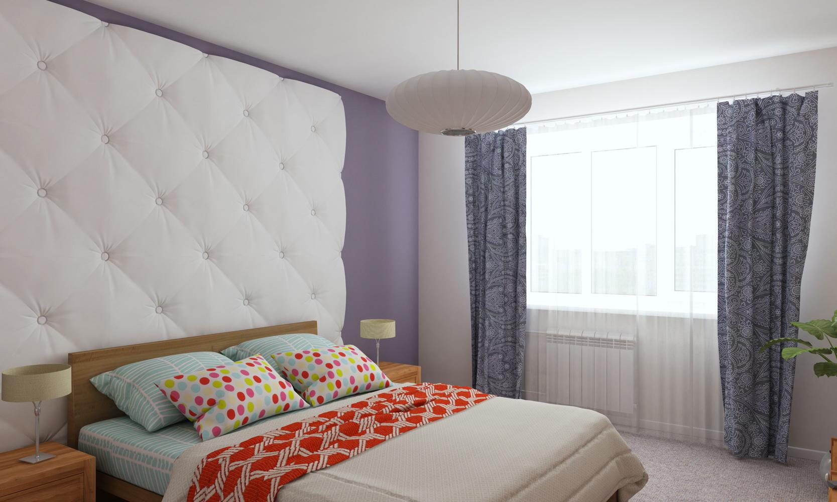 Панели для дизайна спальни