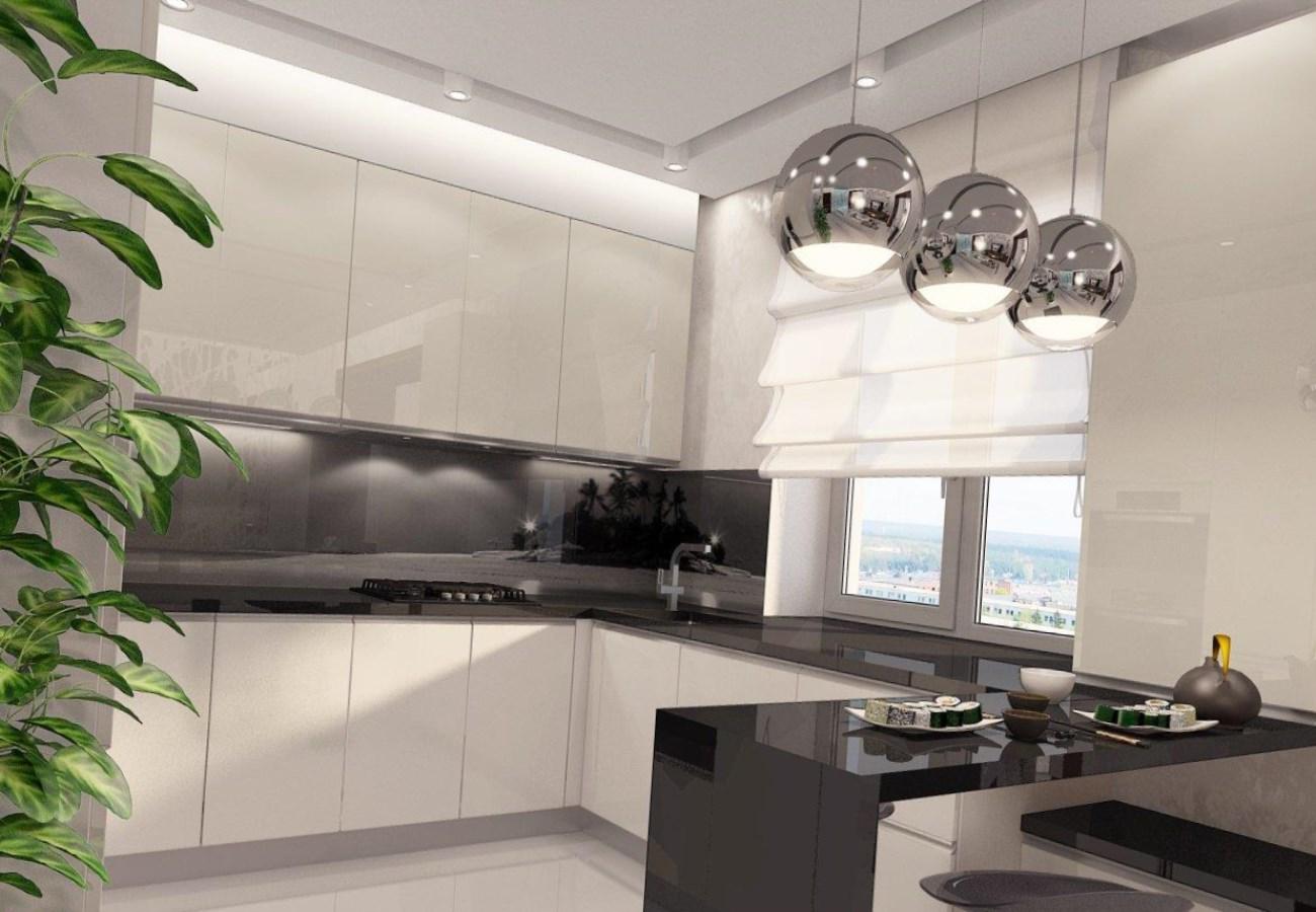 Стиль минимализм в интерьере кухня 180
