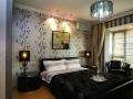 Дизайн обоев в спальне
