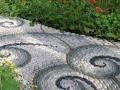 Оформление дорожки на садовом участке