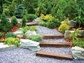 Садовая дорожка из ступенек