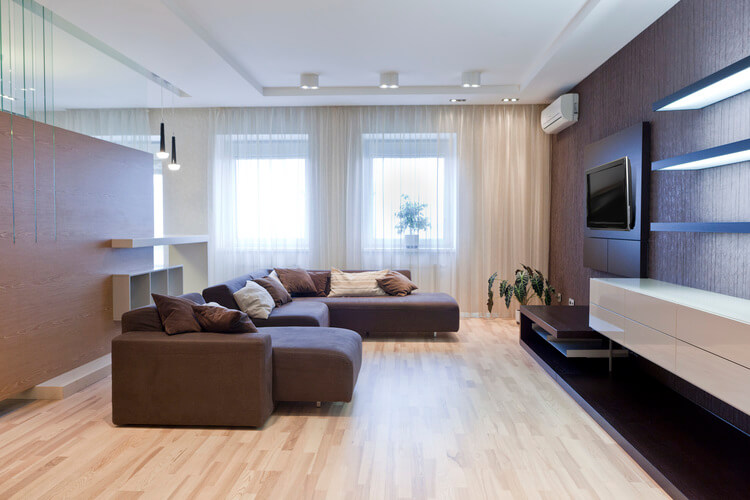 ремонта гостиной