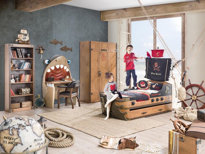 Детская комната в пиратском стиле