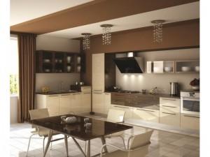 Кухонный интерьер в западном стиле