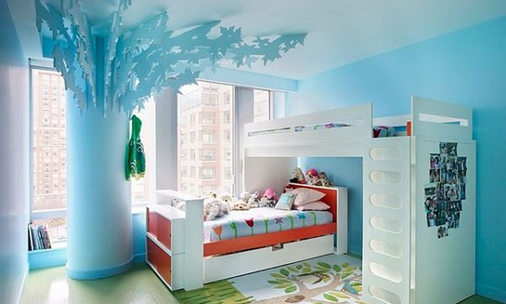 Фото комнаты спальни для детей