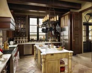 Кухня в стиле этно