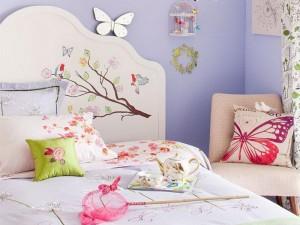 Декорирование комнаты для девочки