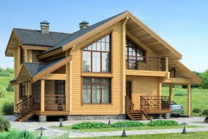 новые дома из бруса