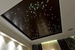 Звездное небо на натяжном потолке