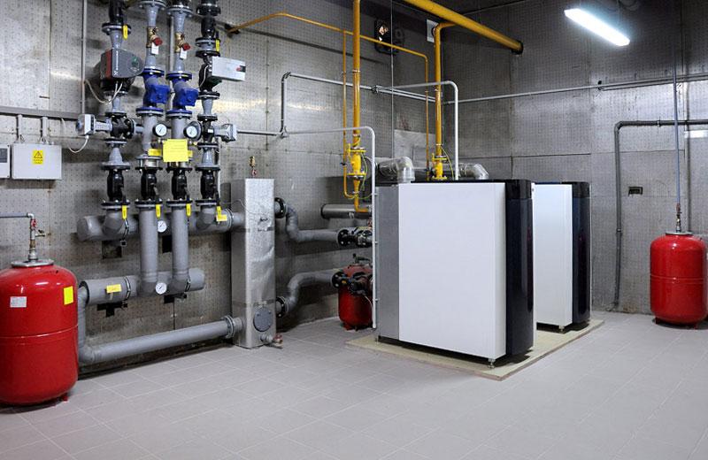 теплообменник Газовые отопительные котлы
