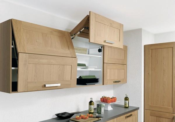 подвесные шкафы на кухню