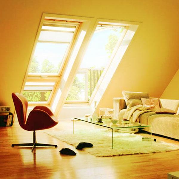 Окна для крыши