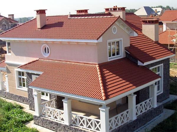 натуральная керамика для крыши