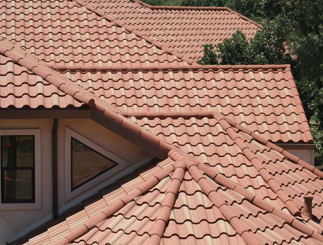 Глиняная черепица для крыши