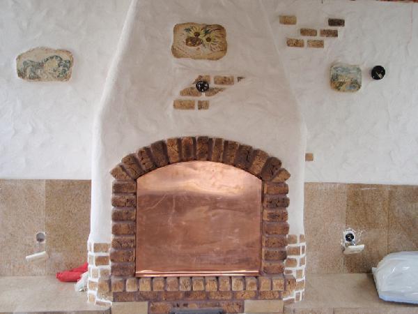Оштукатуривание печей