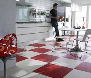Покрытие для пола на кухню