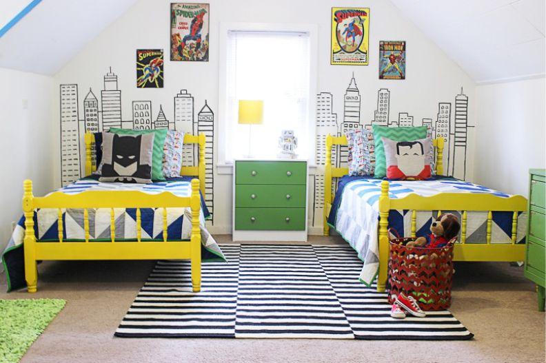 детская комната для ребенка старше двух лет