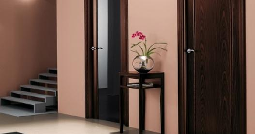 Шпонированные двери из металла