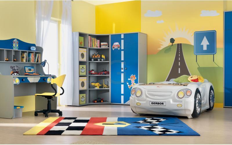 детская комната для ребенка 4 года