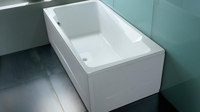 Акриловые ванны без гидромассажа