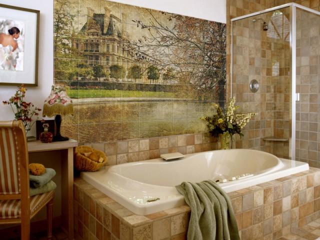 панно в ванной