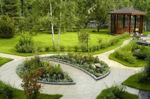 Классический садовый стиль