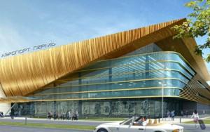 аэровокзальный комплекс в аэропорту Перми