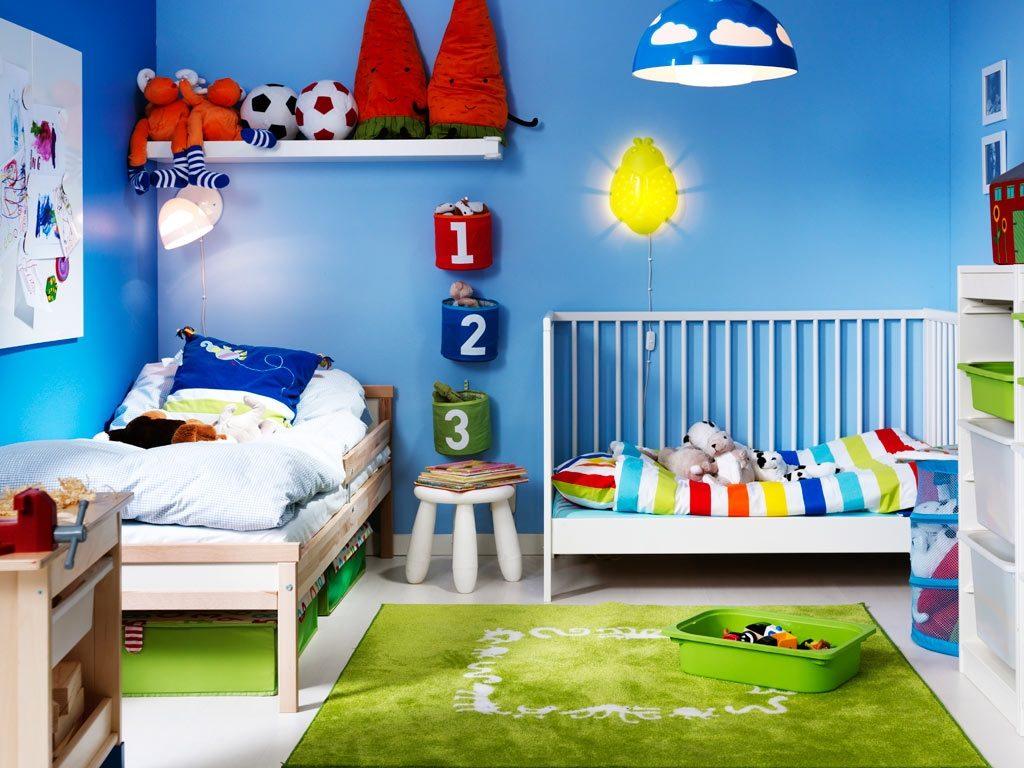 Подбор цветов для детской комнаты