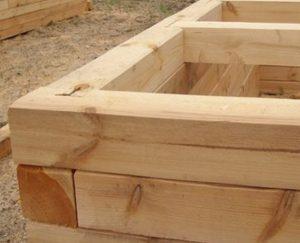 строительство брусовой бани