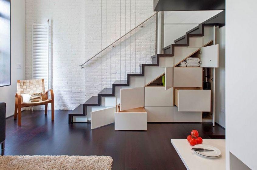 Лестница-шкаф