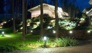 Правила установки уличных декоративных и светодиодных светильников