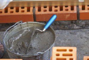 лопата для перемешивания раствора