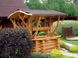 колодезный домик
