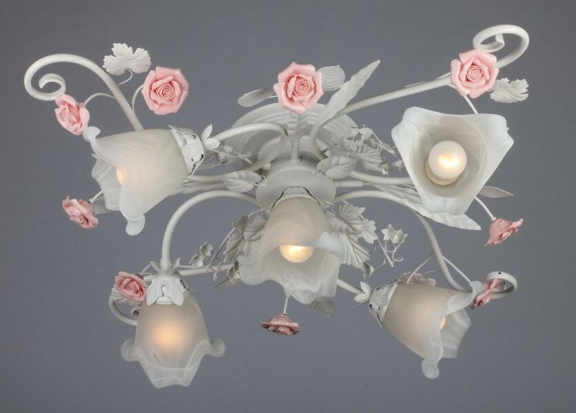 Флористика подвесные люстры