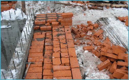 Строим дом из кирпича