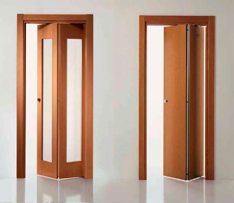 Складная дверь-книжка межкомнатная и цены