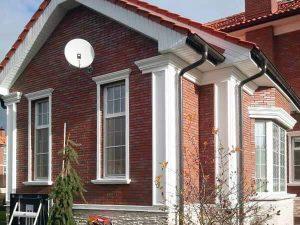 полиуретановая лепнина для фасадов