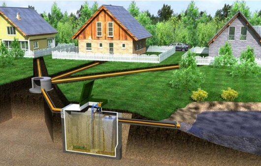 Монтаж наружной канализации