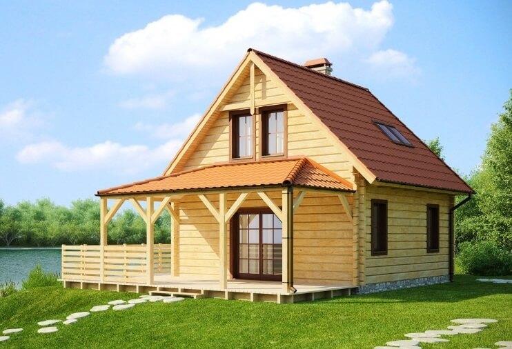 дом брус профилированный