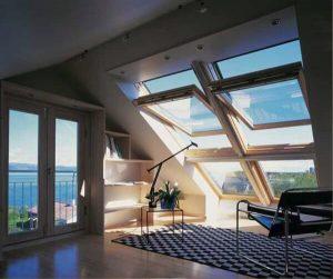 Мансардные окна из ПВХ