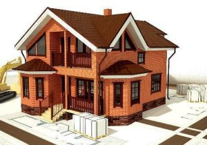 Расходы при строительстве дома из кирпича
