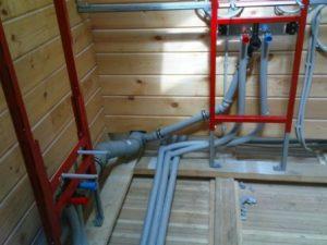 монтаж внутренней канализации в доме