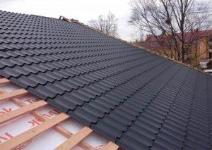 монтаж крыши из металлочерепицы 2018