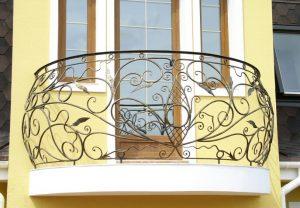 кованые Ограждения для балкона 2