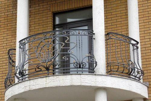 кованые Ограждения для балкона 2018
