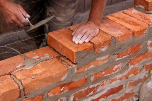 кладка стен кирпичных домов
