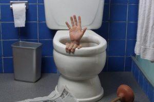 Засор канализации