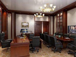 Классический стиль в офисе