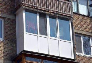 Остекление балконов в хрущевках 2
